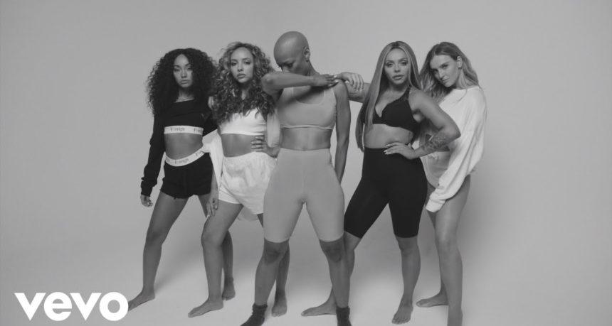 "Little Mix Featuring Sharaya J In ""Strip"""