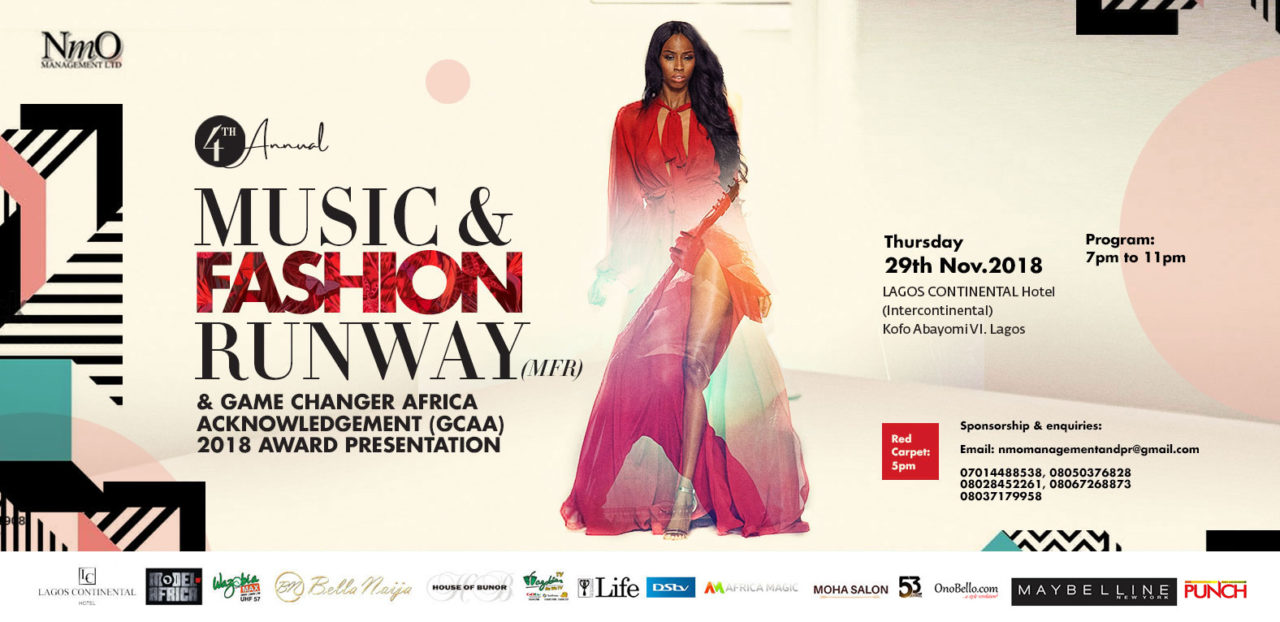 Countdown To The Pan African Music And Fashion Runway And Game Changer Africa Acknowledgement 2018 Awards The Guardian Nigeria News Nigeria And World Newsguardian Life The Guardian Nigeria News