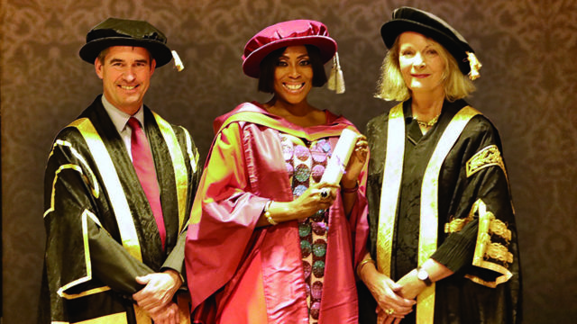 Mo Abudu awarded honorary doctorate by University of Westminster
