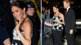 Prince Harry and Meghan Markle attend Royal Variety Performance 2018