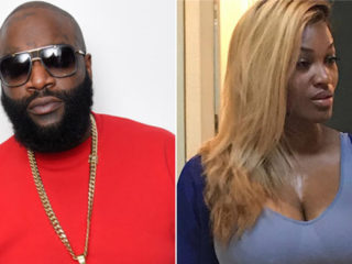 Rick Ross and Brianna Camille