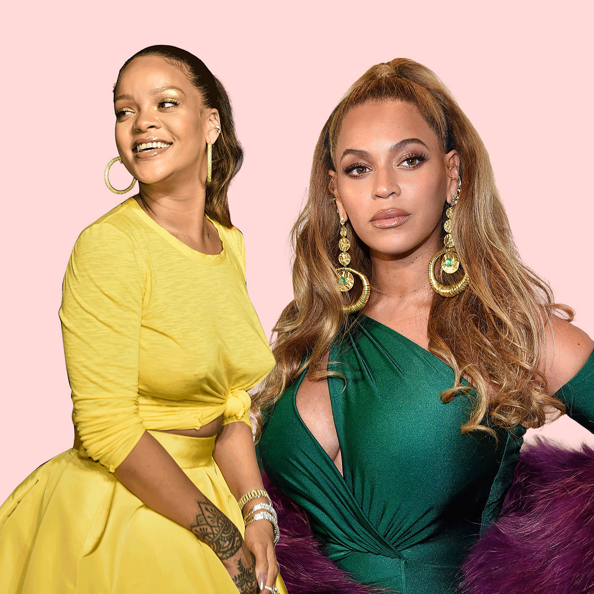 Beyonce And Rihanna Ar... Rihanna Songs List