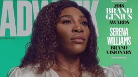 Serena Williams Adweek