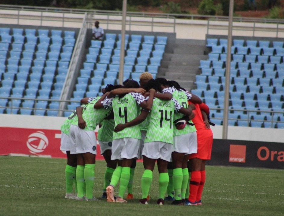 Super Falcons lose 0-3 to China, now to meet Romania