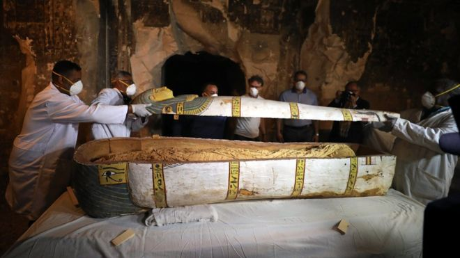 Egypt unveils unopened ancient female sarcophagus | Life , Living