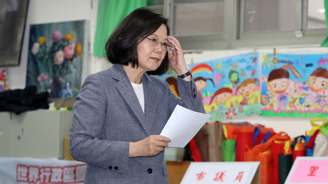 China paints DPP election rout as rejection of Taiwan independence
