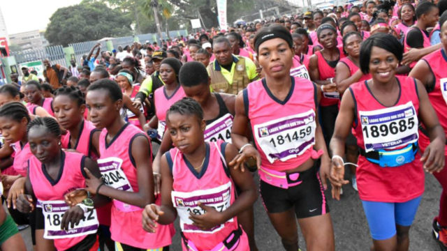 Akusho sets new Lagos Women Run record