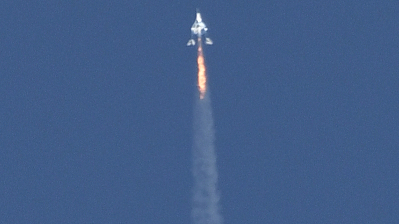 Virgin Galactic's new flight test to soar closer to edge of space