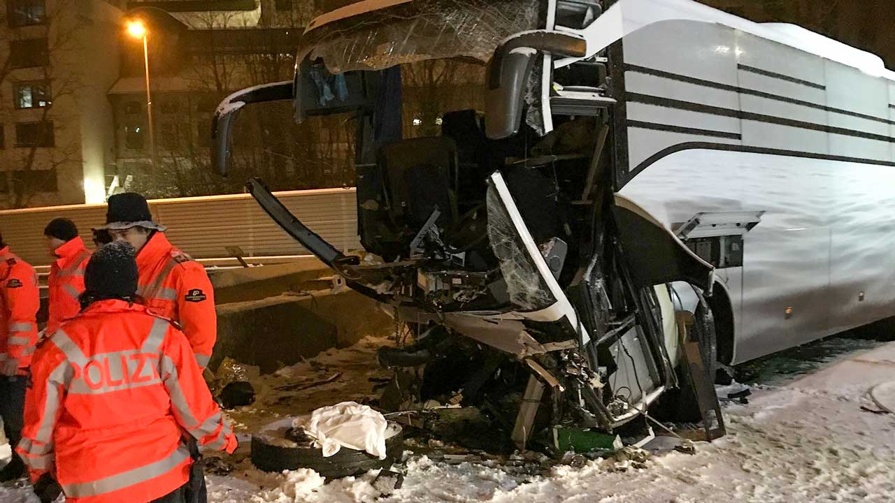 One dead, 44 injured in Swiss bus crash: police | The Guardian Nigeria Newspaper - Nigeria and World News