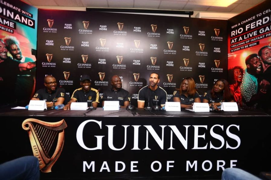 , Extraordinary Fans Show Up As Rio Ferdinand Arrives Lagos, Nightwatchng