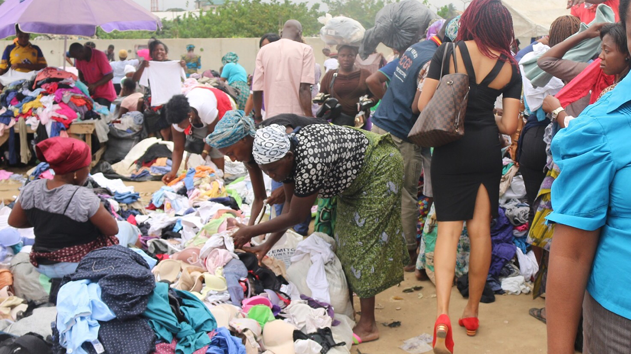 Selling Used Items in Lagos Slums