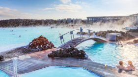 Blue Lagoon at Iceland