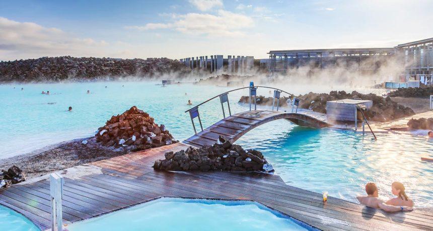 Blue Lagoon at Iceland