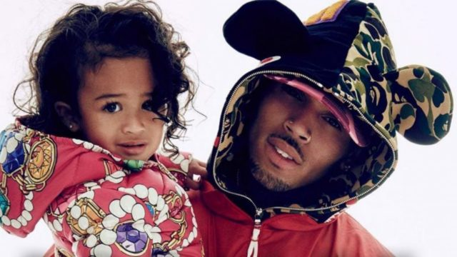 Watch: Royalty Dances As Father Chris Brown Performs