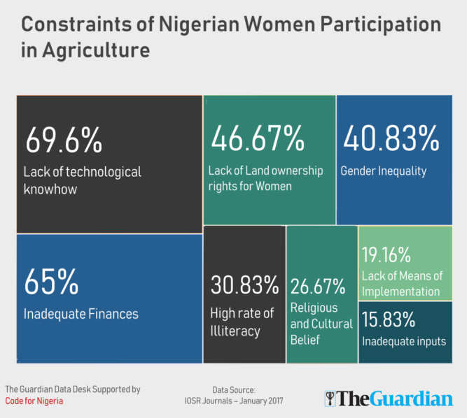To fight Food Poverty in Nigeria, give Women Equity in Land
