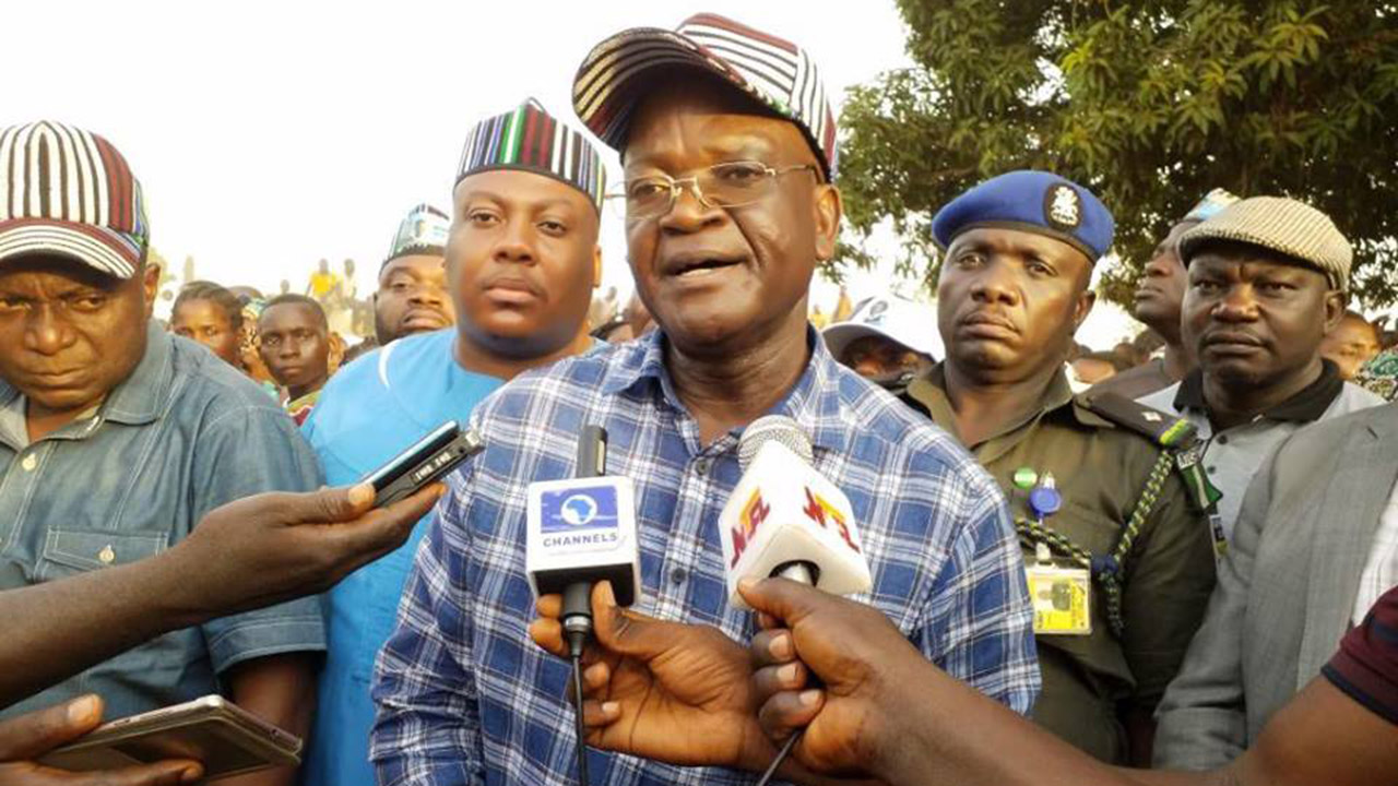 Group flays electoral body over failure to declare Governor Ortom winner
