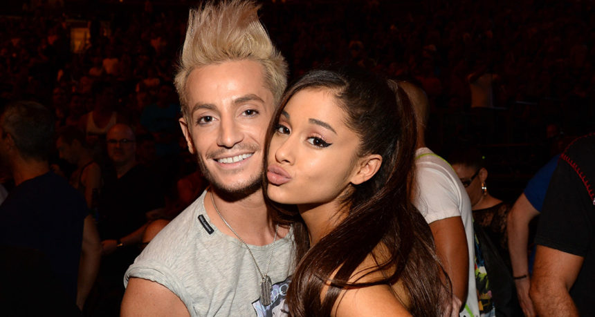 Frankie grande and Ariana grande