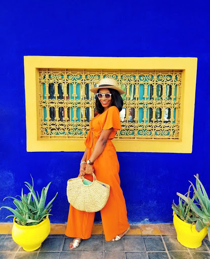 Le Jardin Marjorelle. Marrakech Photo Jessica Ufuoma @theufuoma