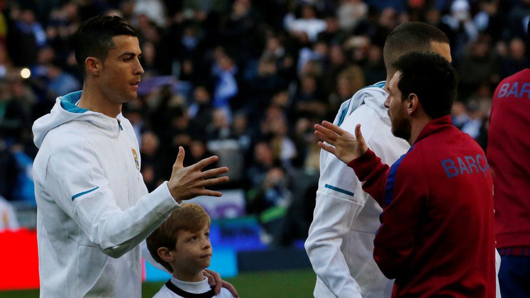 Soccer Football – La Liga Santander – Real Madrid vs FC Barcelona – Santiago  Bernabeu 98e0817f8ed