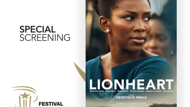 """Image result for photos of Genevieve nnaji at the Special Screening Of Her Movie,""""Lionheart"""" At Marrakech Film Festival"""
