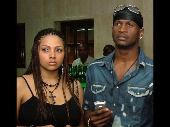 Lola Omotayo and Peter Okoye
