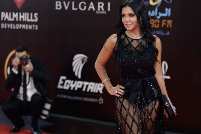 , Egyptian Actress Is Sued For Wearing A Revealing Dress, Nightwatchng