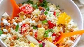 Vegetable coucous salad