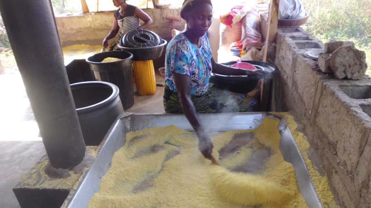 Requirements for starting small-scale gari processing businesses in