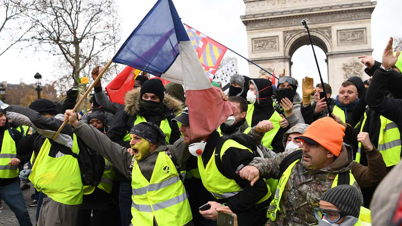 Support falls for France's 'yellow vest' protests: polls | The Guardian Nigeria Newspaper - Nigeria and World News