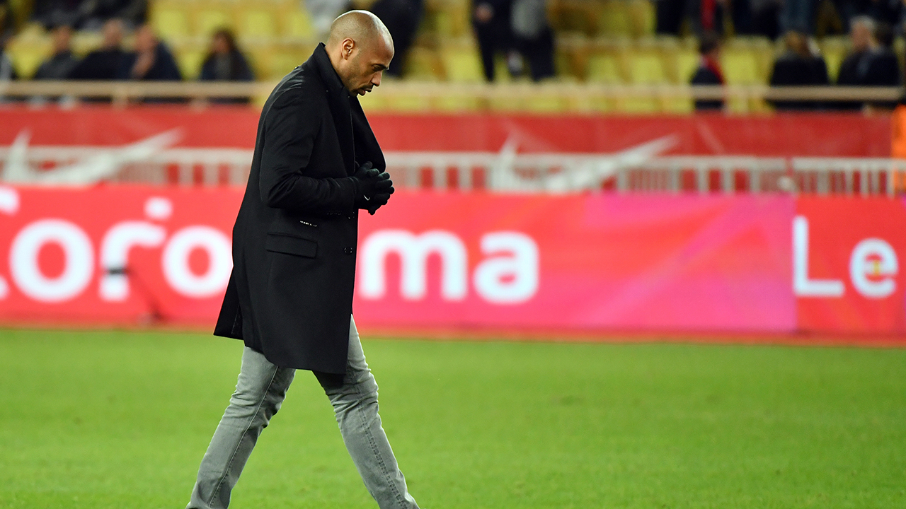 Thierry Henry suspended as Monaco manager