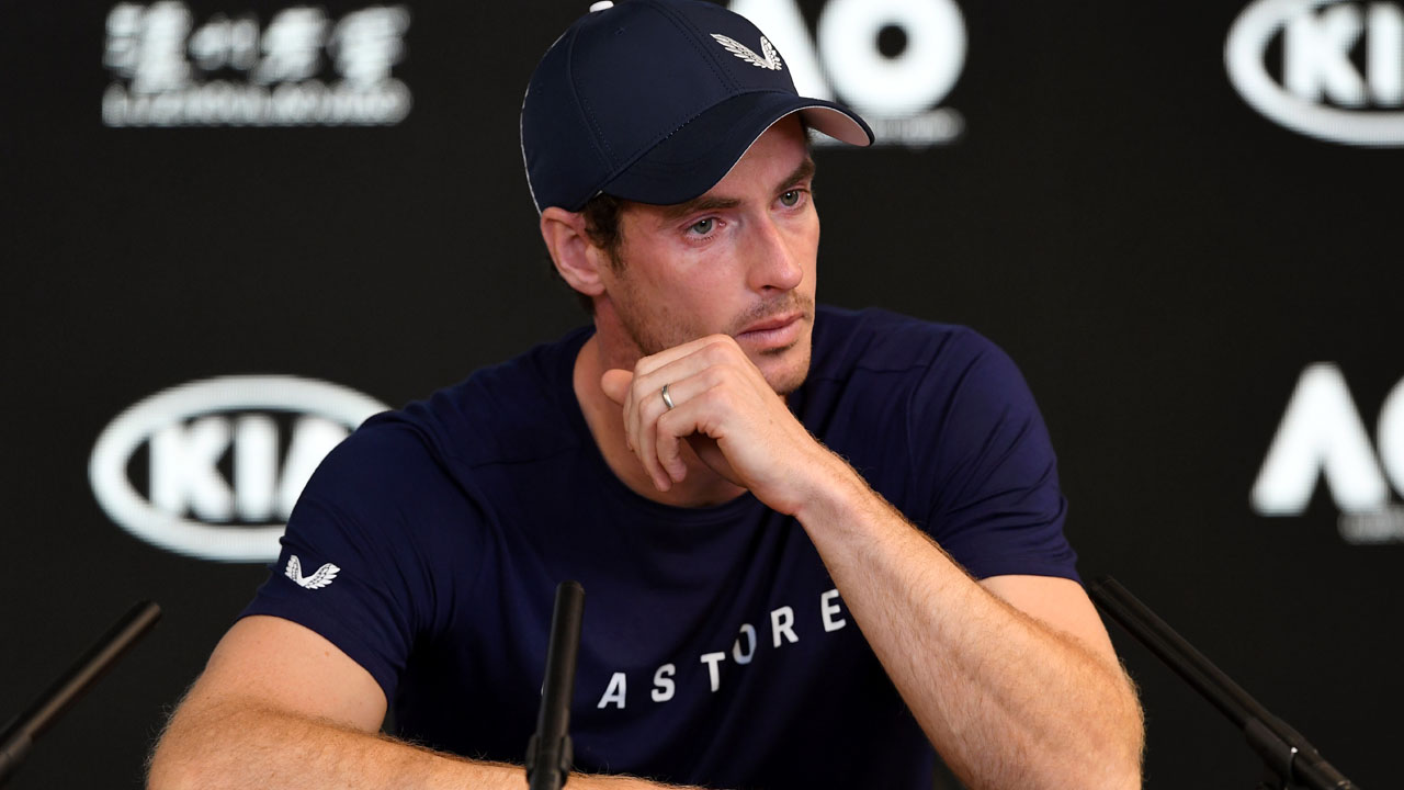 Heartbreak and disbelief as Murray announces retirement