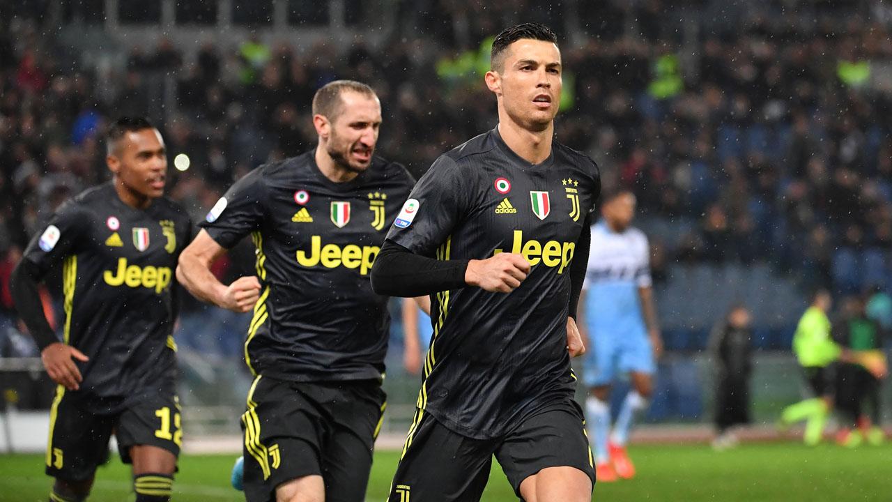 ebd7a381204 Juventus shares soar after Ronaldo hat-trick rescues Champions League