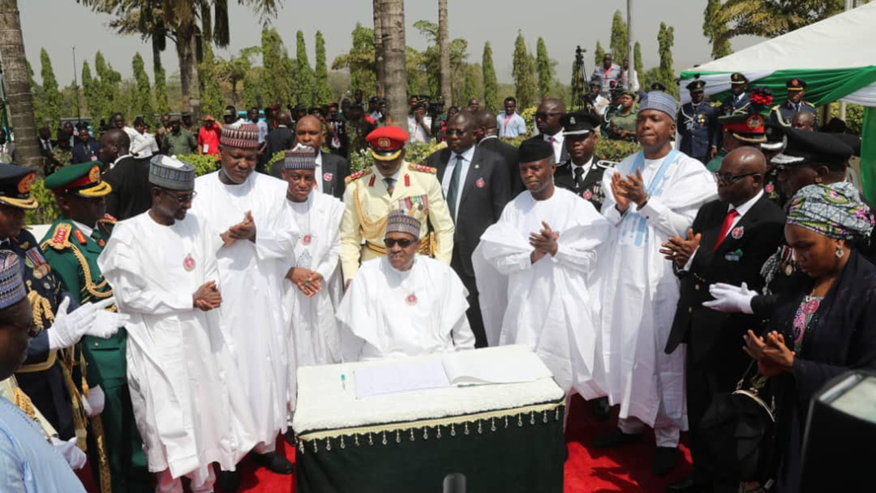 Buhari, Osinbajo, others remember fallen heroes