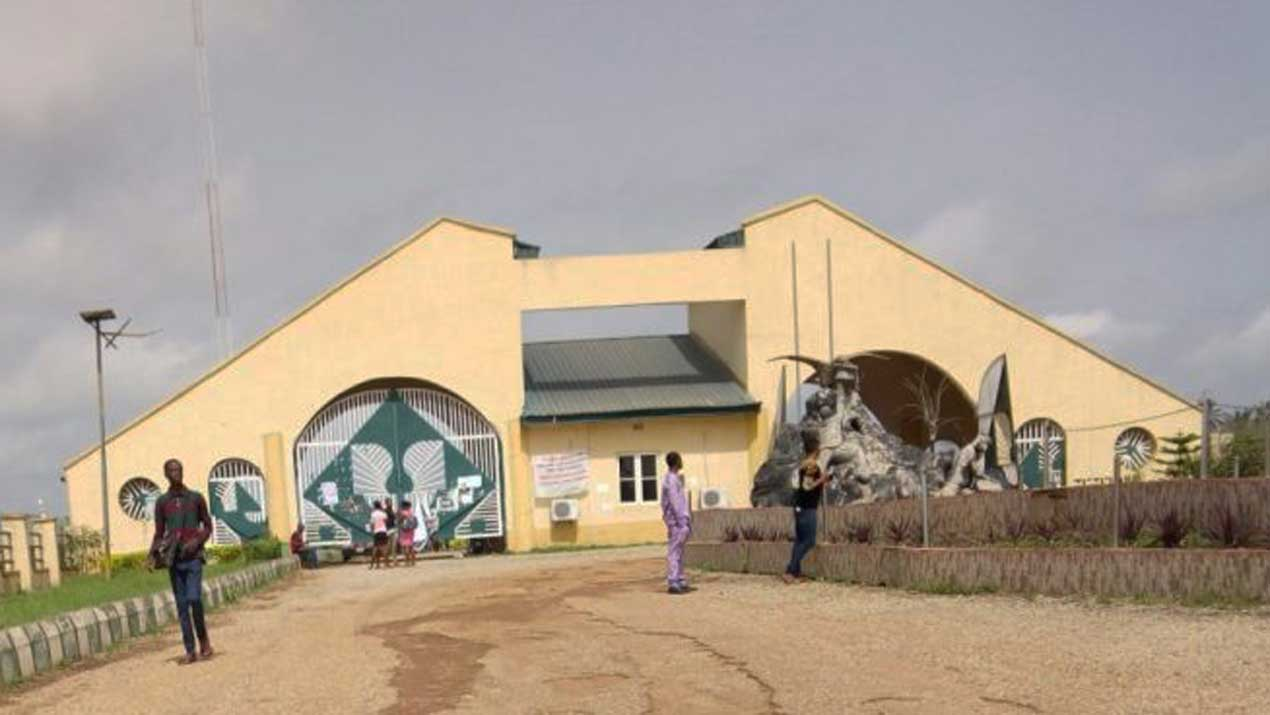 Main Entrance, FUOYE. Photo: Guardian Nigeria