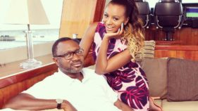 Femi Otedola and Dj-Cuppy