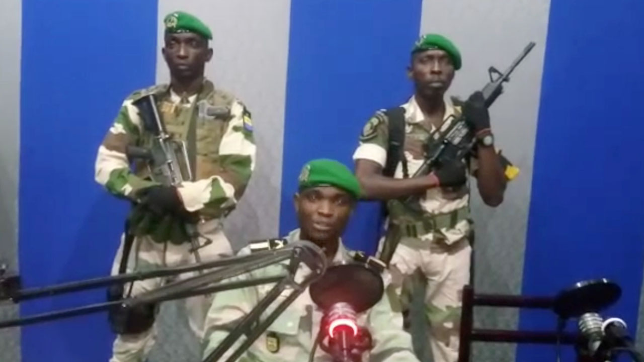 Gabon government says 'situation under control,' rebels seized