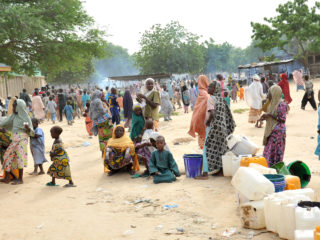 Homeless indigens of Bornu state due to Boko Haram attacks