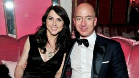 Jeff Bezos and wife, MazKenzie