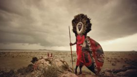 Maasai boys to fight lion