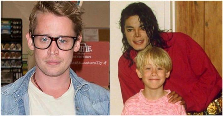 Macauley culkin and Michael Jackson