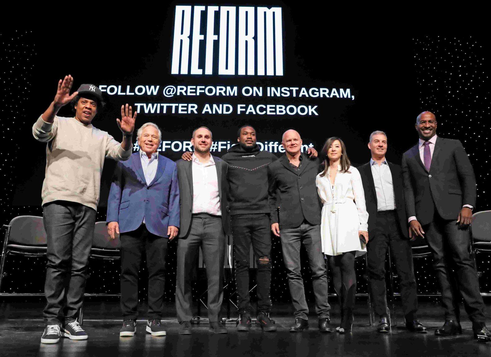 Meek Mill, JAY-Z and Robert Kraft start criminal justice reform organization
