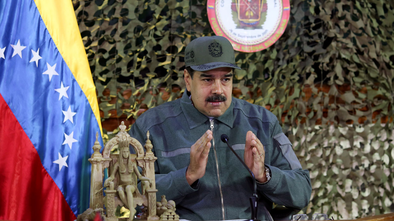 Venezuela opposition strategy depends on military support