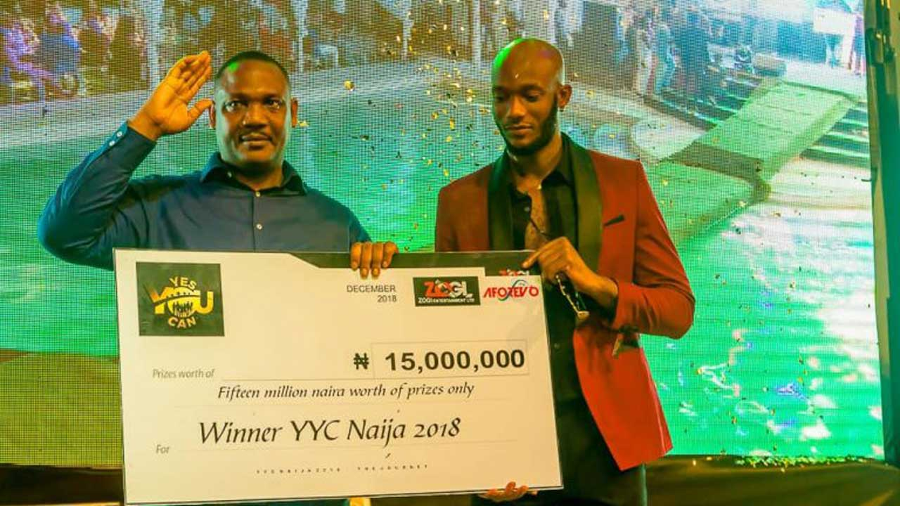 Edozie, yes you canwinner receives N15m cash prize