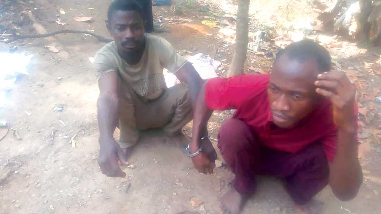 Police burst ritualists' den, arrest two suspects in Ekiti
