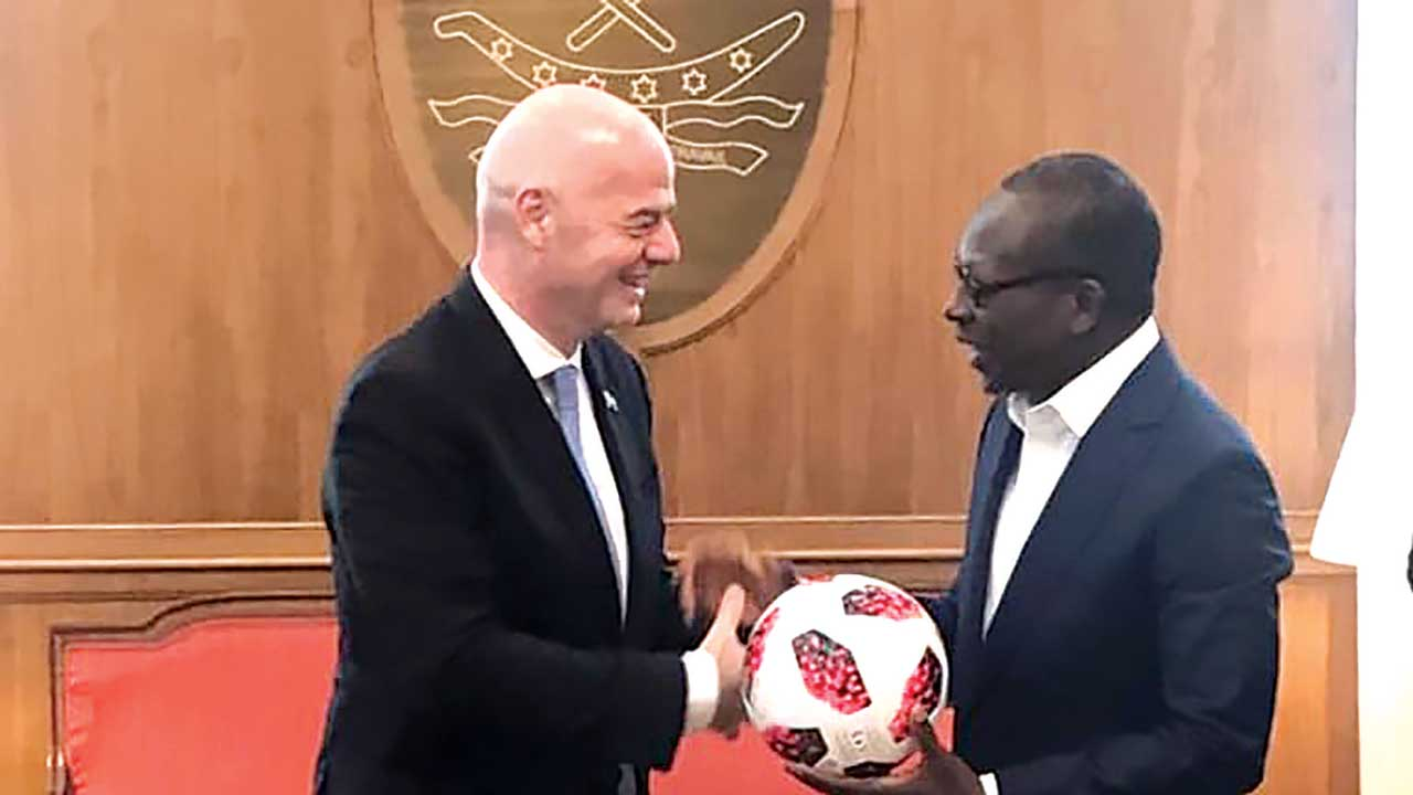 FIFA signs historic MoU with Benin Republic