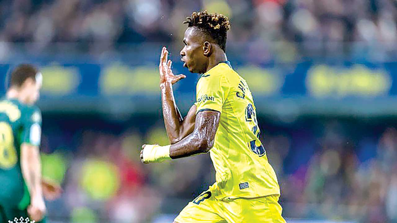 Nigerian star, Sam Chukwueze, keeping Villarreal spirits high