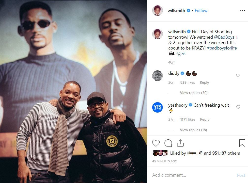 Will-Smith-announced-that-filming-is-about-to-commence-for-Bad-Boys-3-credit.-instagram-