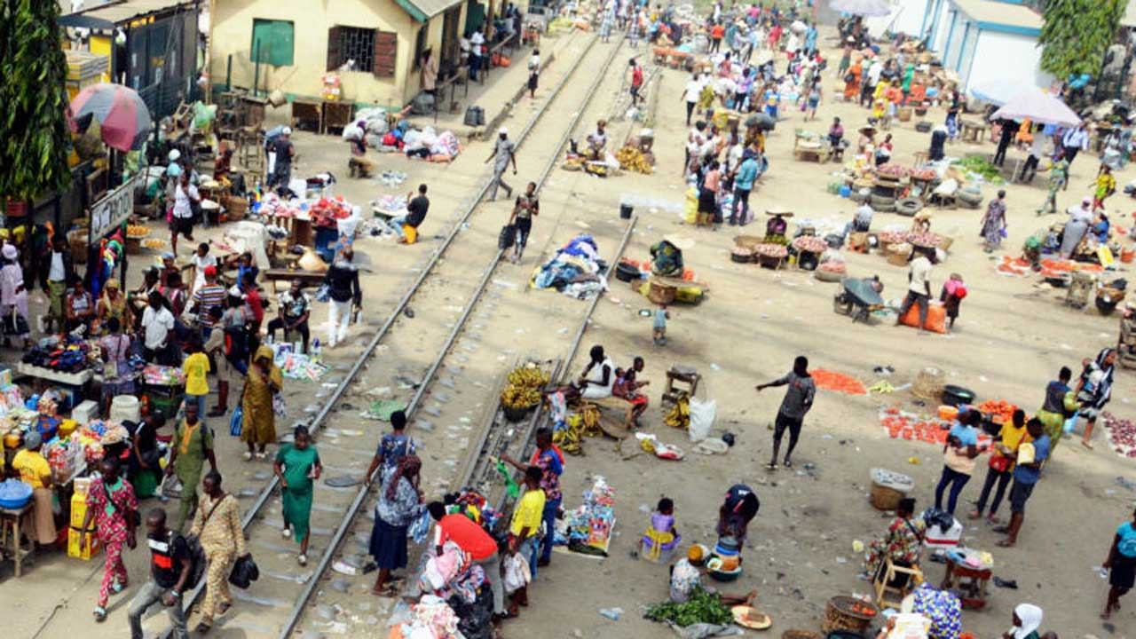 LASG to clampdown on traders on rail lines