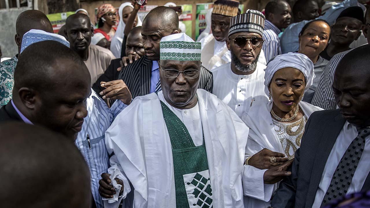 Atiku defeats Buhari inside Aso Rock   The Guardian Nigeria News - Nigeria and World News