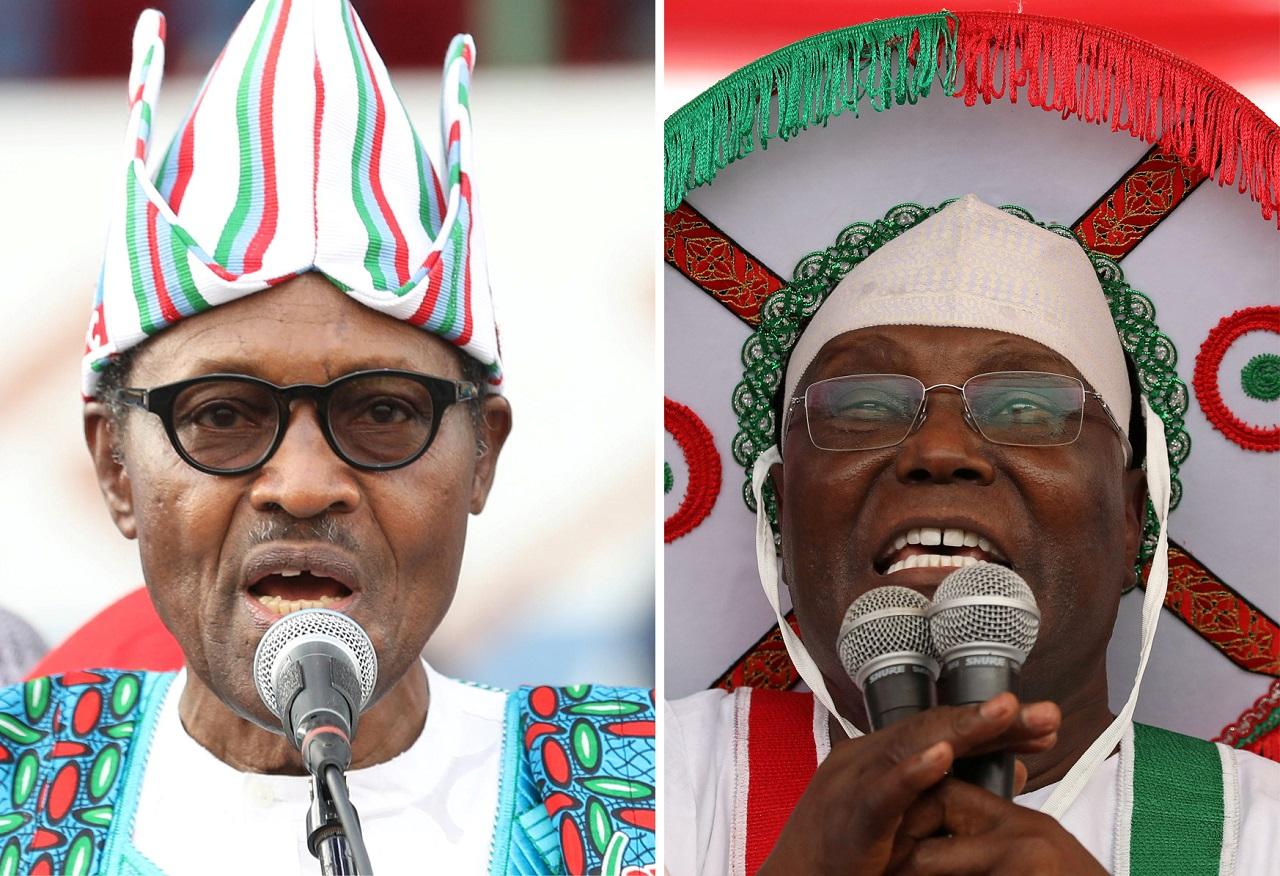 Image result for Buhari atiku